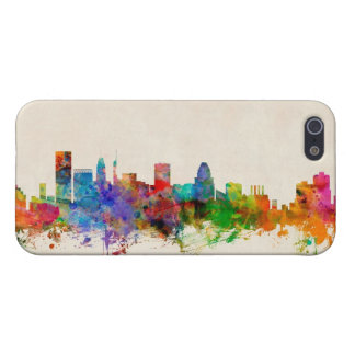 Baltimore Maryland Skyline Cityscape iPhone 5 Covers