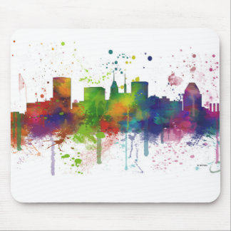 BALTIMORE MARYLAND SKYLINE MOUSE MAT