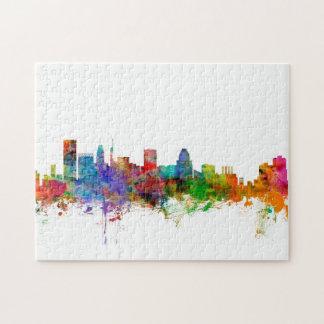 Baltimore Maryland Skyline Puzzles