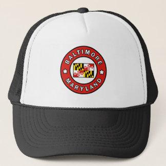 Baltimore Maryland Trucker Hat