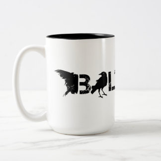 Baltimore Maryland Two-Tone Coffee Mug