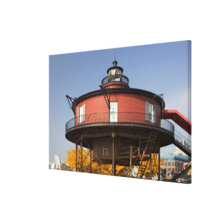BALTIMORE, MARYLAND. USA. Seven-Foot Knoll Canvas Print