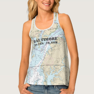 Baltimore MD Home Port Nautical Tank Top