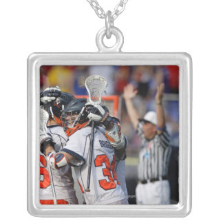 BALTIMORE, MD - MAY 30:  Colin Briggs #34 Silver Plated Necklace