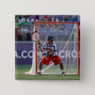 BALTIMORE, MD - MAY 30:  Goalie Adam Ghitelman 15 Cm Square Badge