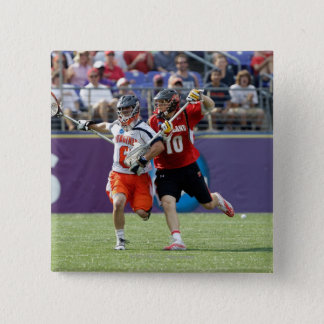 BALTIMORE, MD - MAY 30: Goalie Adam Ghitelman #8 15 Cm Square Badge