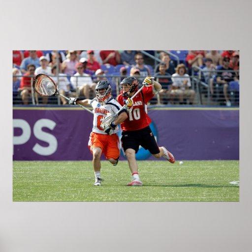BALTIMORE, MD - MAY 30: Goalie Adam Ghitelman #8 Poster