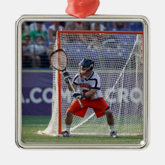 BALTIMORE, MD - MAY 30:  Goalie Adam Ghitelman Christmas Ornament
