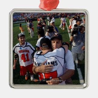 BALTIMORE, MD - MAY 30:  Head coach Dom Starsia Christmas Ornament