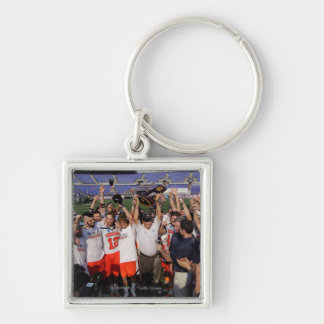 BALTIMORE, MD - MAY 30:  Members  Virginia Silver-Colored Square Key Ring