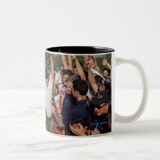 BALTIMORE, MD - MAY 30:  Members  Virginia Two-Tone Coffee Mug