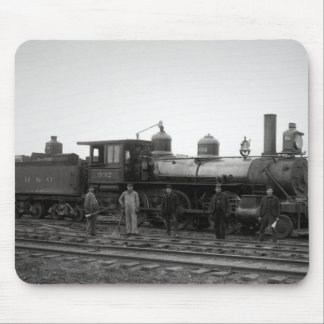 Baltimore & Ohio (B&O) Railroad Engine 932 Mouse Mat