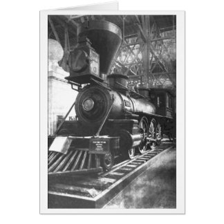 Baltimore & Ohio Railroad Steam Locomotive Card