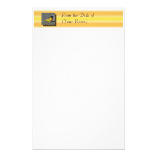 Baltimore Oriole Stationary - From the Desk of ... Stationery