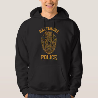 baltimore police maryland detective hoodie