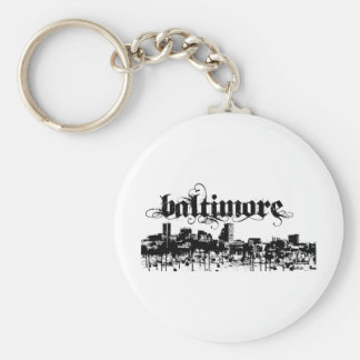Baltimore put on for your city key ring