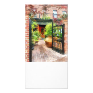 Baltimore - Restaurant Courtyard Fells Point Picture Card