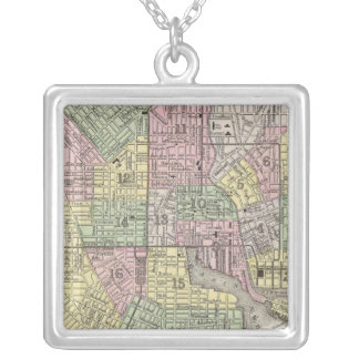 Baltimore Silver Plated Necklace