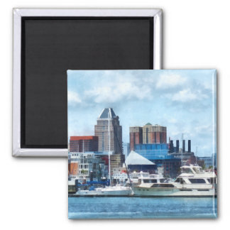 Baltimore Skyline and Harbor Square Magnet