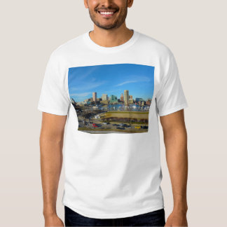 Baltimore Skyline from Federal Hill Tee Shirts