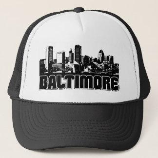 Baltimore Skyline Trucker Hat