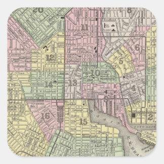 Baltimore Square Sticker