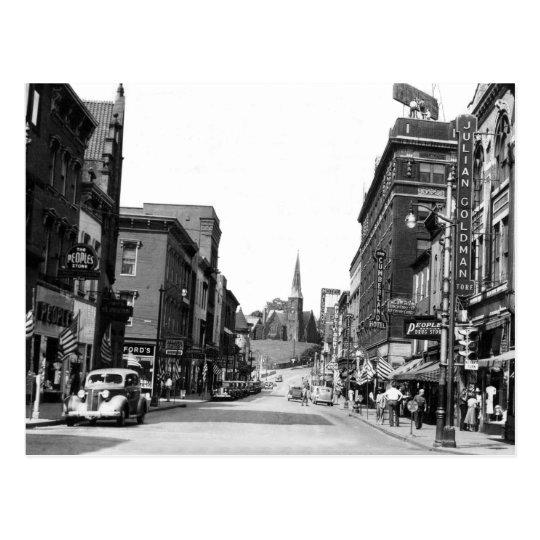 Baltimore St., Cumberland, MD Postcard