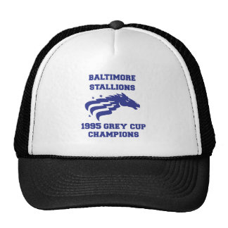 Baltimore Stallions Mesh Hat