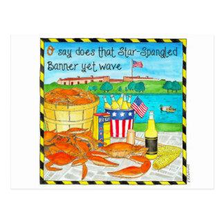 Baltimore Summer Inspirational Post Card