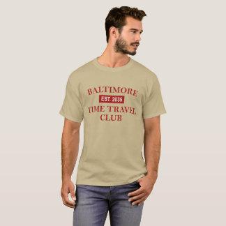Baltimore Time Travel Club Men's dark T-shirt