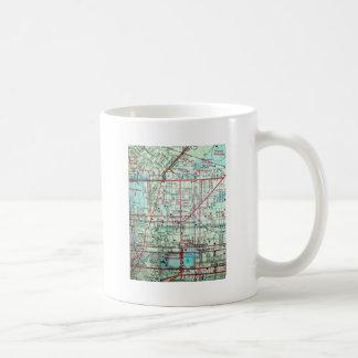 BALTIMORE Vintage Map Basic White Mug