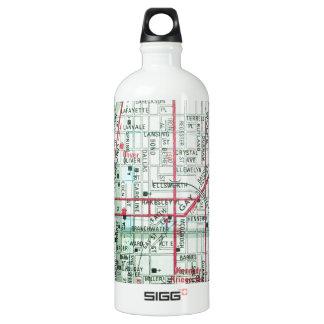 BALTIMORE Vintage Map SIGG Traveller 1.0L Water Bottle