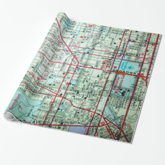 BALTIMORE Vintage Map Wrapping Paper