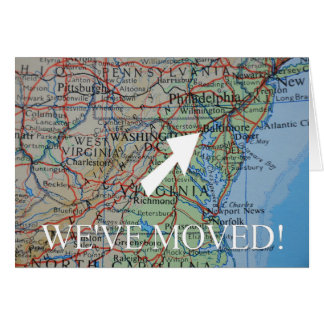 Baltimore We've Moved address announcement