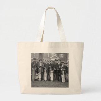 Baltusrol Caddies early 1900s Tote Bag