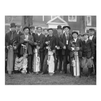 Baltusrol Caddies, early 1900s Postcard