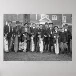 Baltusrol Golf Caddies: early 1900s Poster