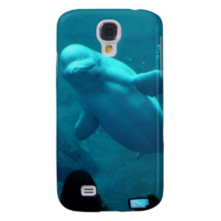 Baluga Whale Galaxy S4 Cover