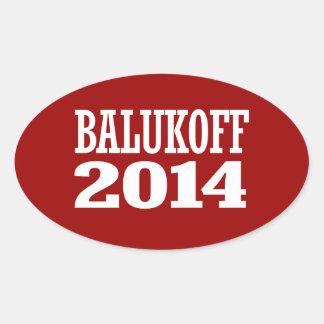 BALUKOFF 2014 STICKER