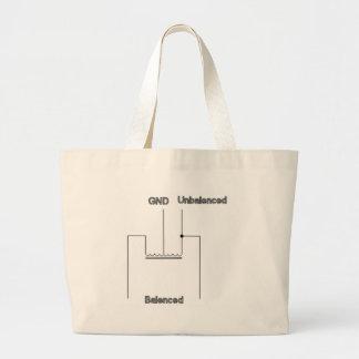Balun Circuit Diagram Tote Bags
