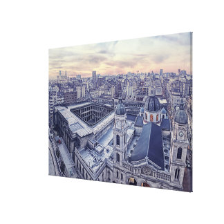 Balvaneta Church Canvas Print