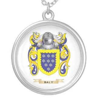 Baly Coat of Arms Family Crest Pendant