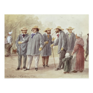 Balzac and Friends Postcard