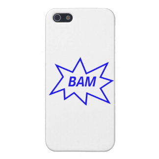 Bam Blue iPhone 5 Case