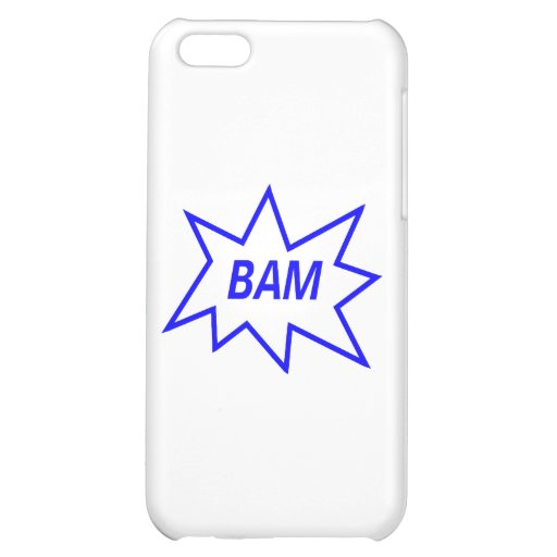 Bam Blue iPhone 5C Cover