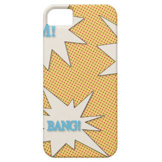 Bam Pow Bang Comic Style iPhone 5 Cases