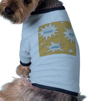 Bam! Pow! Bang! Comic Style Doggie T Shirt