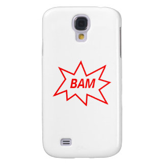 Bam Red Galaxy S4 Case