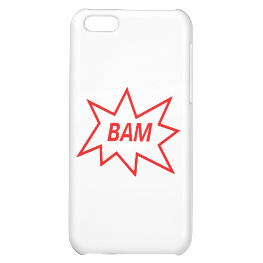 Bam Red Case For iPhone 5C