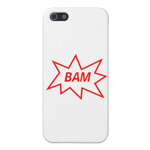 Bam Red iPhone 5 Covers
